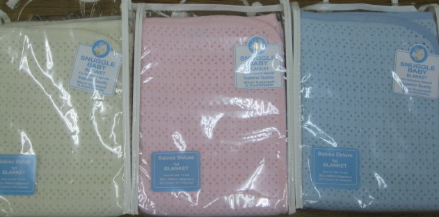 Baby Assorted Deluxe Blanket