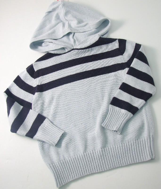 Boys Hooded Jumper