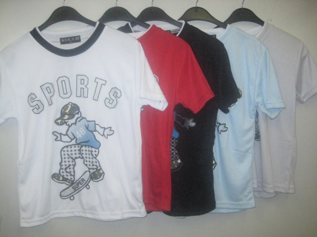 Boys Tshirt With Sports Print
