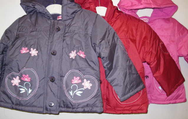 Girls Hooded Padded Jacket