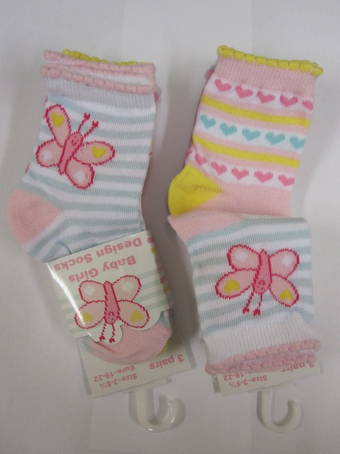 Baby Assorted Design Socks