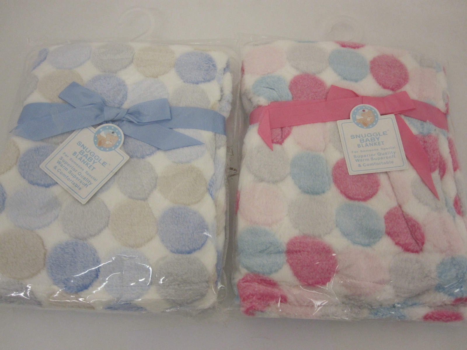 Baby Fleece Wrap With Circle Pattern