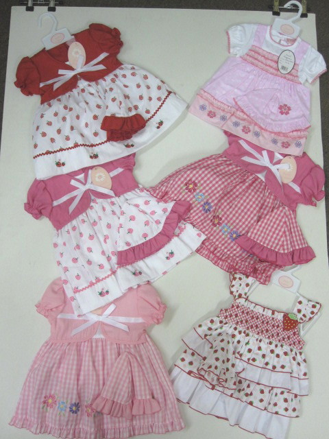 Baby Dress Pack 6