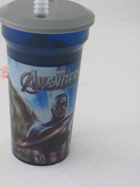 Avengers Straw Bottle