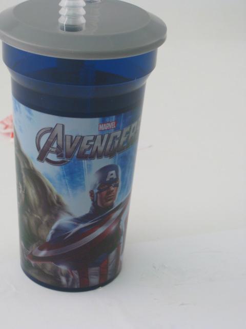 Avengers Straw Bottle