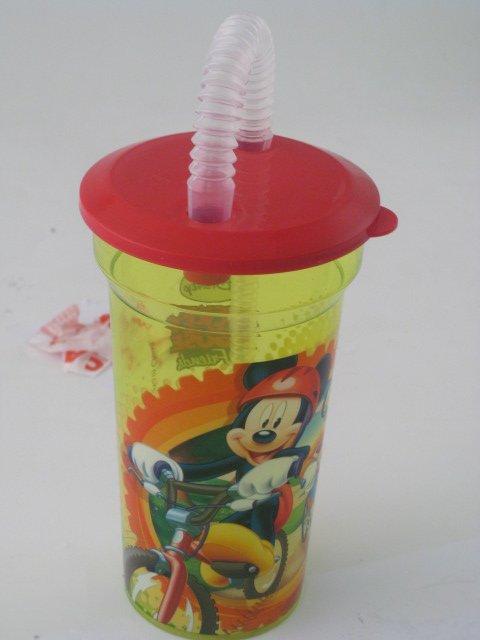 Mickey Mouse Straw Bottle