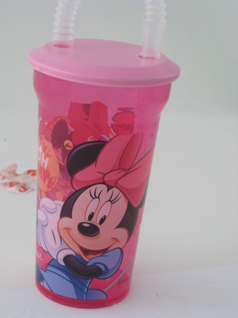 Minnie Mouse Straw Bottle