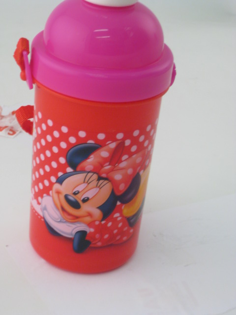 Minnie Mouse Pop Up Bottle