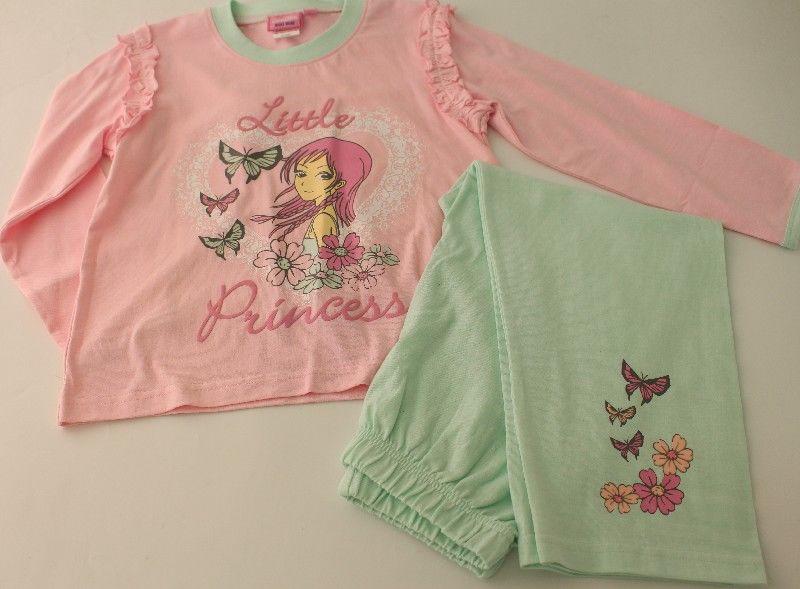 Girls Princess Pyjamas