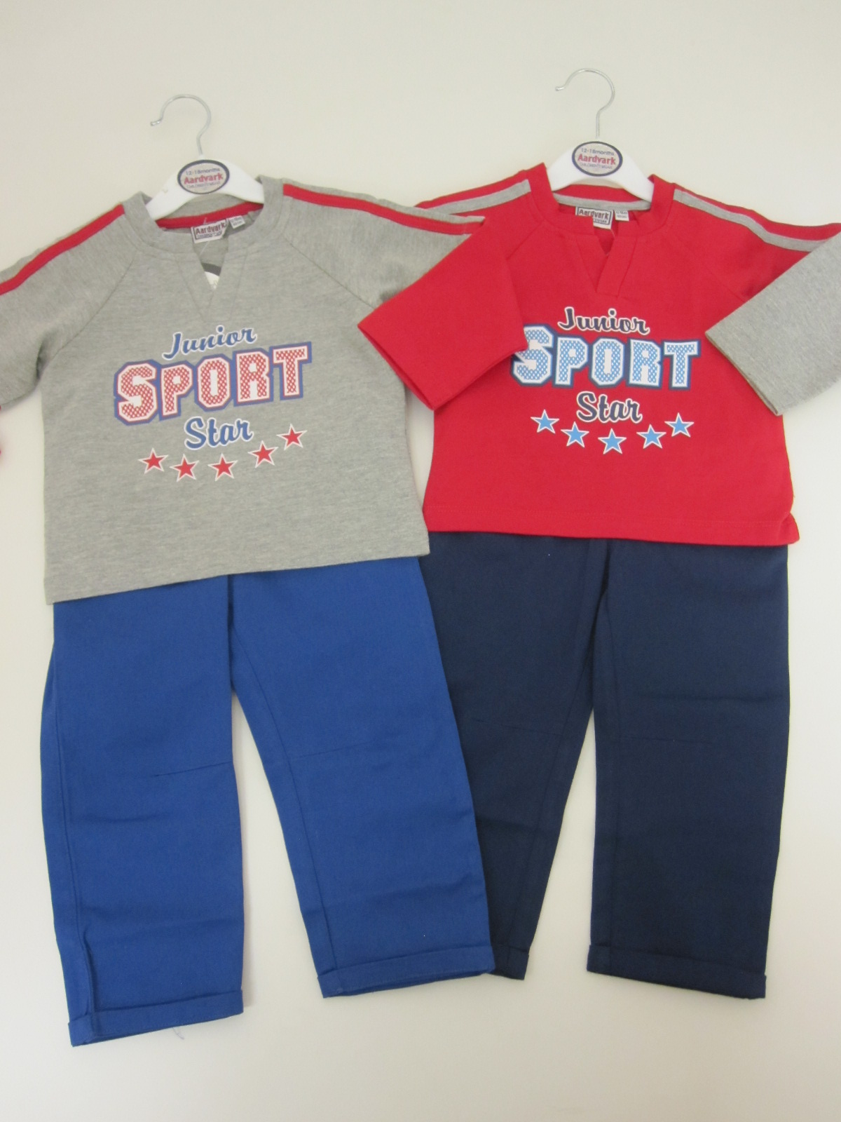 Baby Boys French Terry Top And Trouser Set Sport