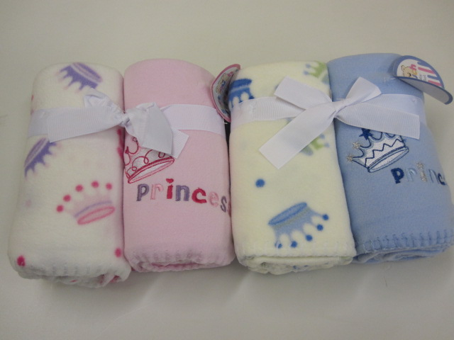 Baby Princess 2pack Fleece Wrap