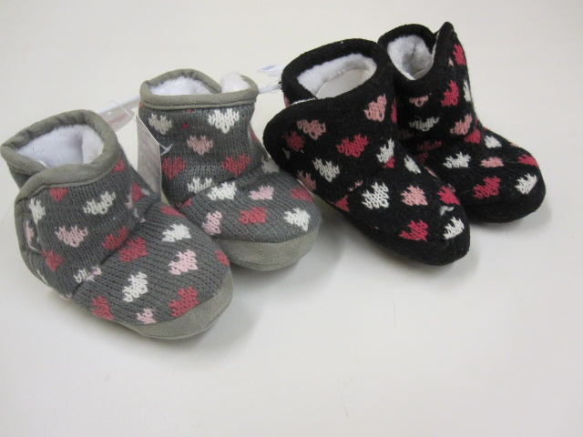 Baby Knitted Patterned Boots