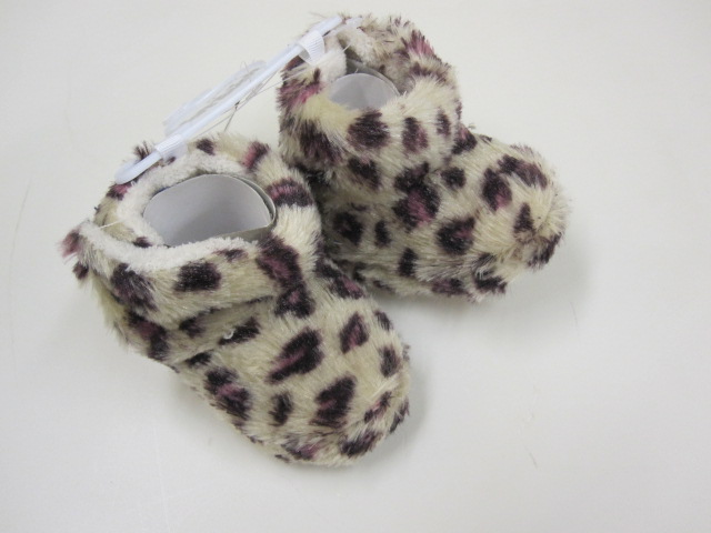 Baby Animal Print Furry Boots