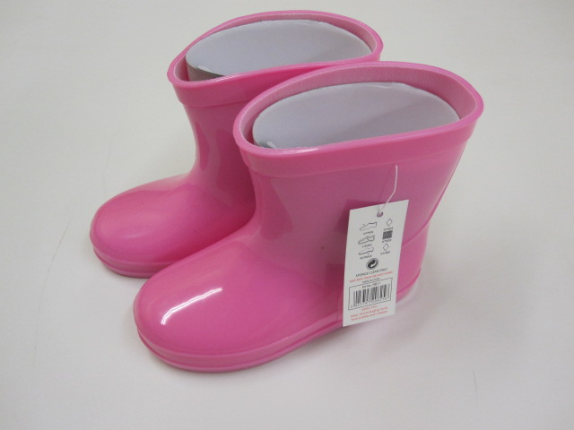 Baby Pink Wellington Boots