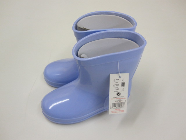 Baby Blue Wellington Boots