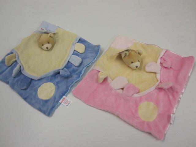 Baby Teddy Comfort Blanket