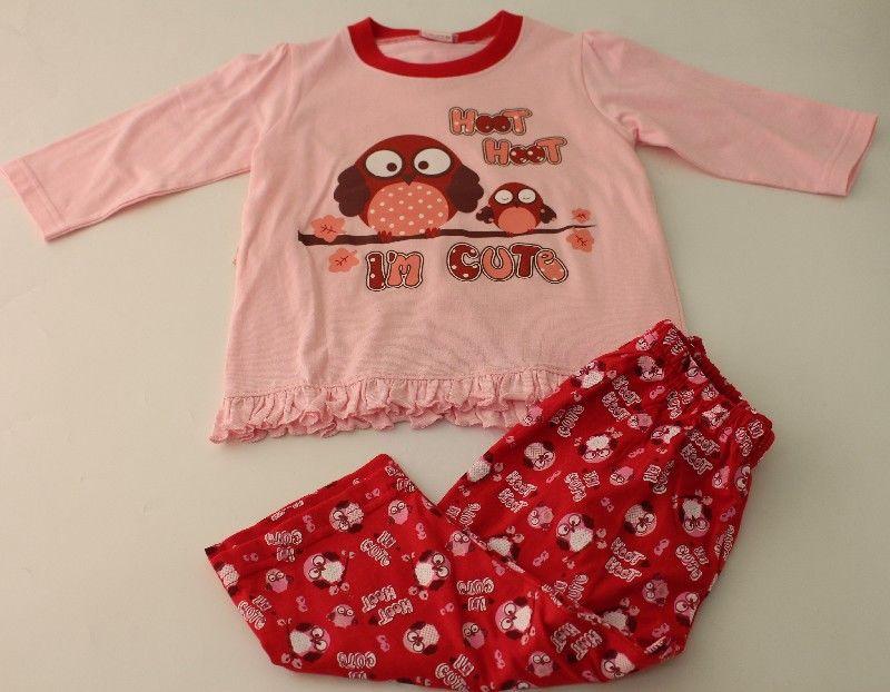 Baby Girls Pyjama Hoot