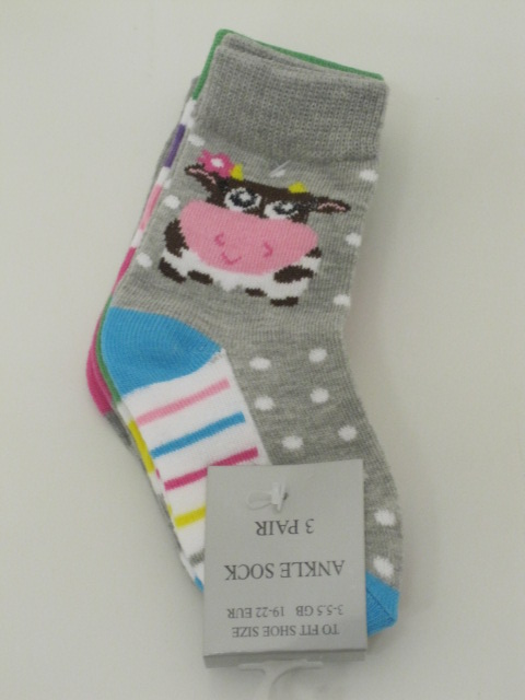 Baby Assorted Socks Cow