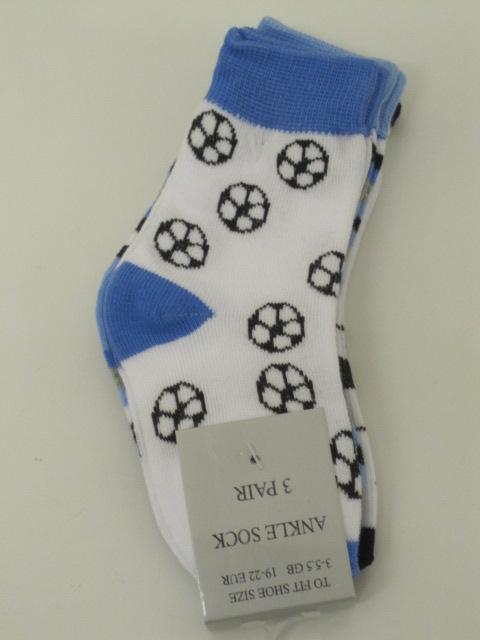 Baby Socks Football Design