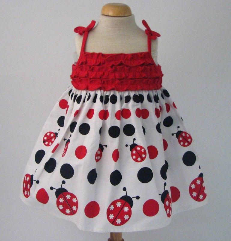 Ladybird Ruffle Dress