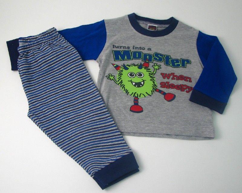 Baby Boys Pyjamas Monster
