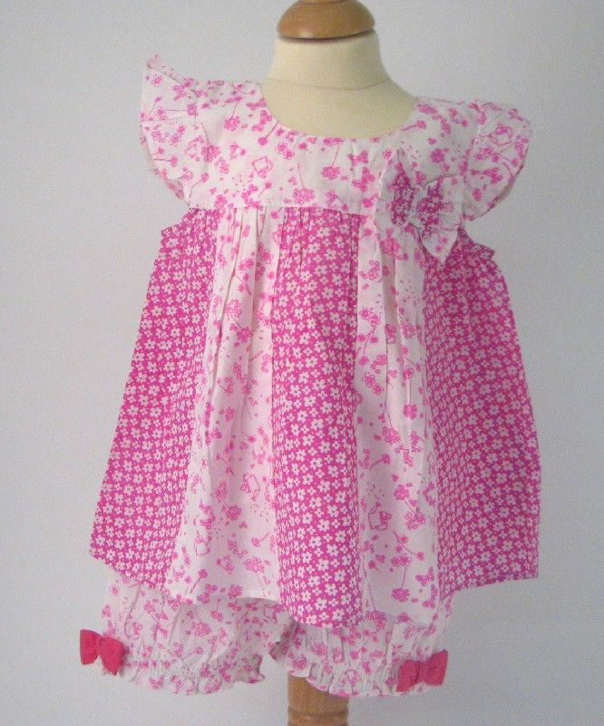 Baby Top And Shorts Flower Print