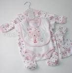 Baby 5pc Gift Set Pink Cat