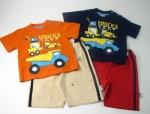 Boys Tshirt Short Set Trucks