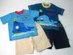 Boys Tshirt Short Set Whale