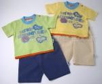 Boys Tshirt Short Set Safari