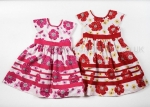 Girls Poppy Print Dress