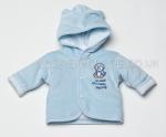 Babys First Jacket Penguin Blue