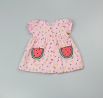 AOP Dress Lined Watermelons