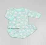 Baby Pyjama Boys Blocky Elephant