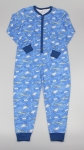Cotton Onesie Boys Shark