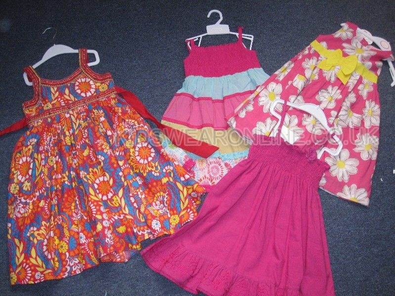 Girls Dress Mix Pack 2-6yrs