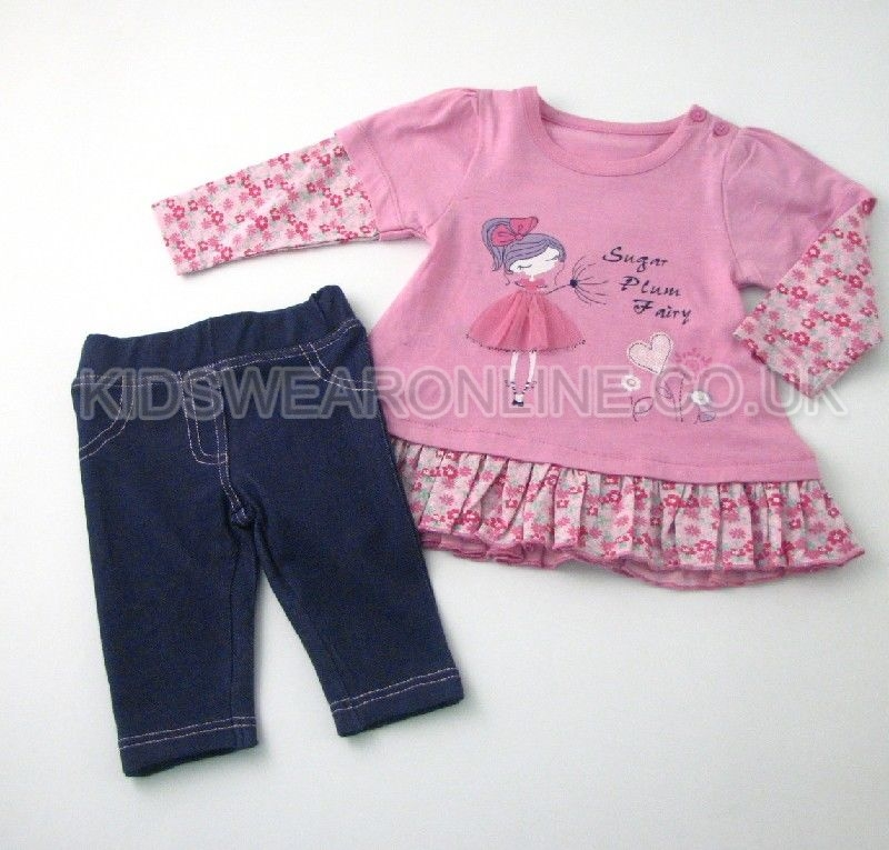 Baby Girls Tunic And Legging Set Fairy