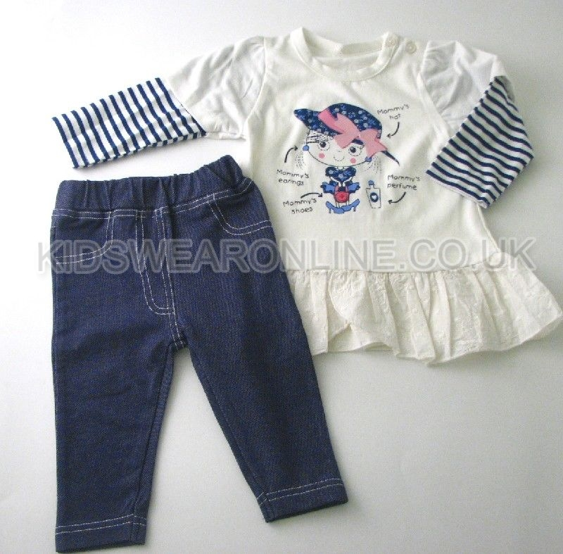 Baby Girls Tunic And Jegging Set