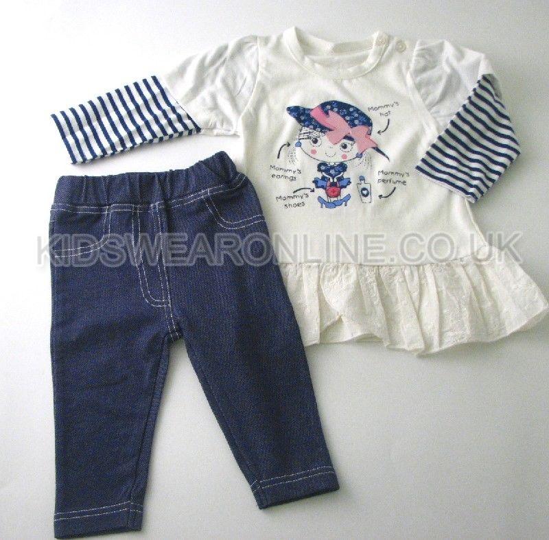 Baby Girls Tunic And Jegging Set