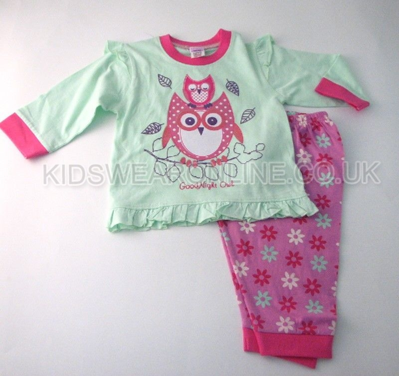 Baby Girls Pyjama Goodnight Owl