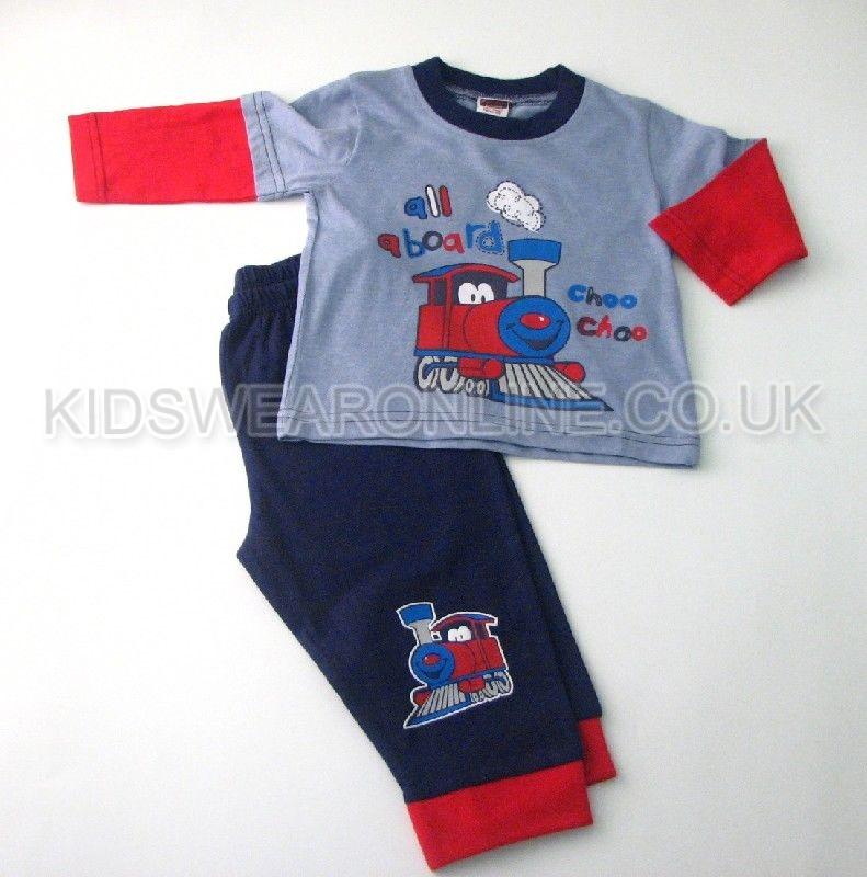 Baby Boys Pyjama Choo Choo