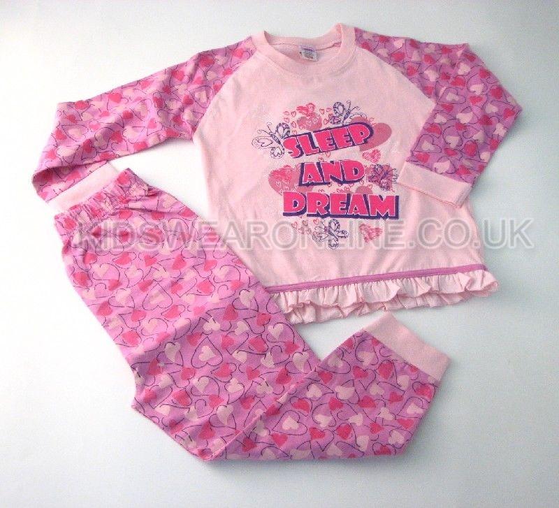 Girls Sleep And Dream Pyjamas