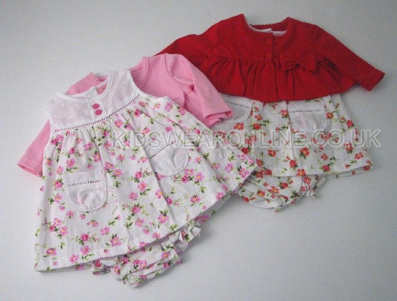 Baby Dress Pant Set Cardigan