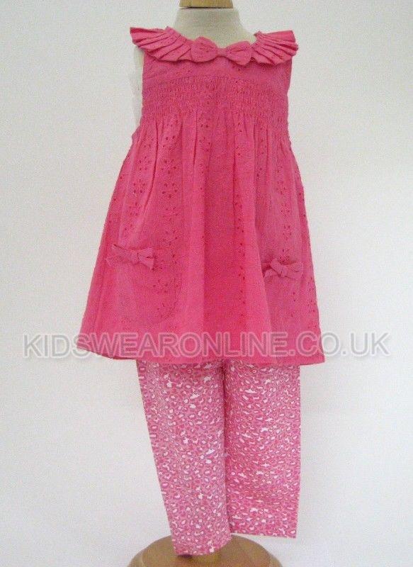 Baby Dress And Animal Print  Legging