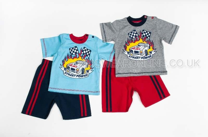 Boys Street Power Short Set