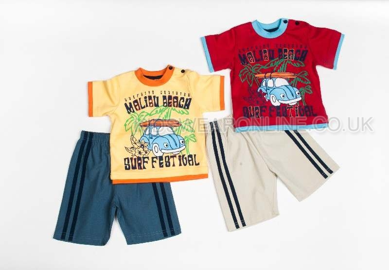 Boys Malibu Beach Short Set