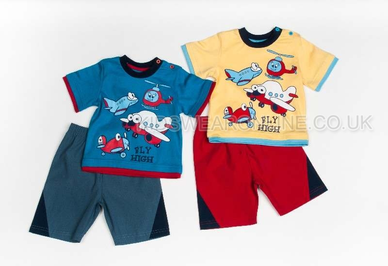 Boys Fly High Short Set
