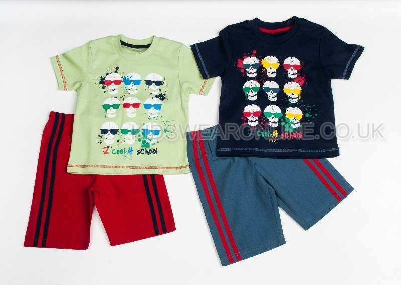 Boys 2 Cool 4 School Short Set