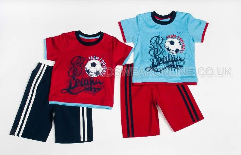 Boys Team Football Short Set