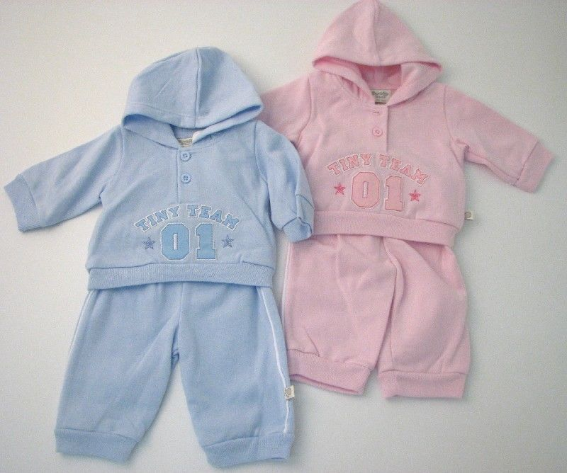 Baby 2pc Sporty Jogset With Hood
